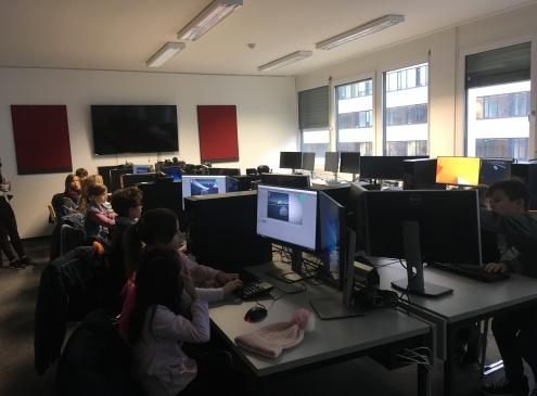 Seminarraum FH Technikum Wien