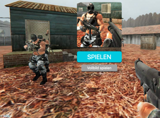 Szene aus einem Killerspiel
