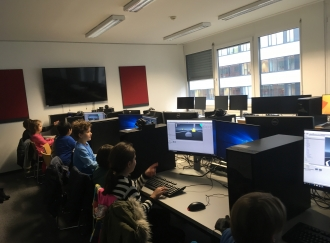 Workshop im Usability Lab der FH Technikum Wien