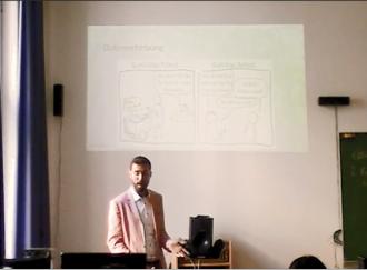 Vortrag von Marc Busch, MSc