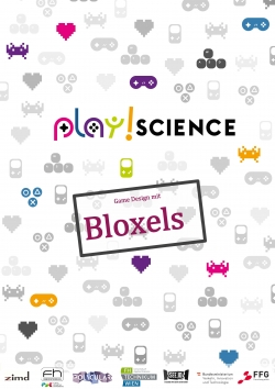 Deckblatt Game Design mit Bloxels