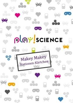 Deckblatt Makey-Makey Stationen-Kärtchen
