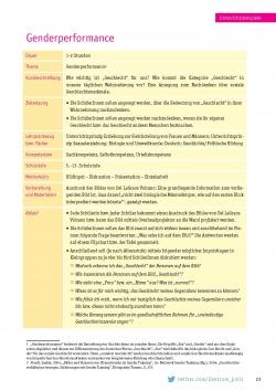 Polis, S.23 - Gender, Gleichstellung, Geschlechtergerechtigkeit